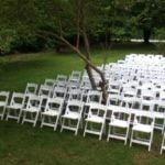 white garden chair 2